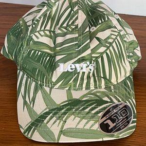 Levi's NWT leaf print Flexfit cap, adjustable back